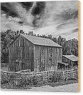 Livery Barn 17834 Wood Print