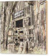 Livery Wood Print