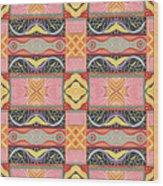 Living In The Pink 2 - Tjod X V I Arrangement Wood Print