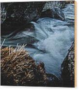 Living Water Wood Print