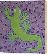 Lizard Lizard Wood Print