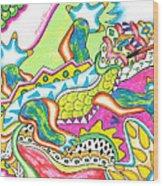Ioli - Lizard Wood Print