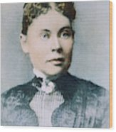 Lizzie Andrew Borden (1860-1927) Wood Print