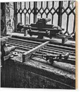 Llanberis Slate Museum - Workshop 1 Wood Print
