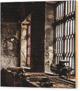 Llanberis Slate Museum - Workshop 2 Wood Print