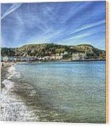 Llandudno Beach Wood Print