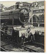Llangollen Railway Wood Print
