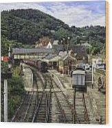Llangollen Railway Station Wood Print