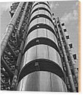 Lloyds Building London Wood Print