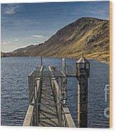 Llyn Cowlyd Reservoir Wood Print