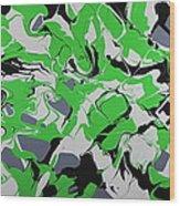 Lime Verve Wood Print