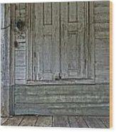 Loading Dock Wood Print