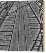 Lobatos Crossing Wood Print