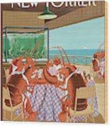 Lobsterman's Special Wood Print