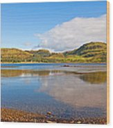 Loch Craignish Argyll Scotland Wood Print