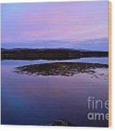 Loch Dunvegan At Sunrise Wood Print