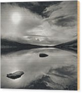 Loch Etive Wood Print by Dave Bowman