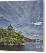 Loch Katrine Landscape Wood Print