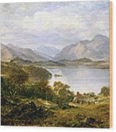 Loch Lomond, 1861 Wood Print