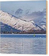 Loch Lomond Panorama Wood Print by Antony McAulay