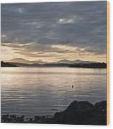Loch Melfort Wood Print