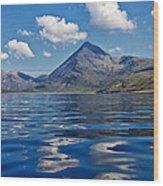 Loch Scavaig Wood Print