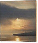 Loch Sunset Wood Print