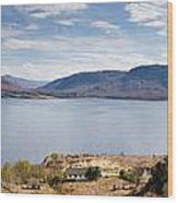 Loch Torridon Panorama Wood Print