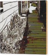 Locke Alley Way Wood Print