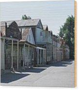 Locke Chinatown Series - Main Street - 1  Wood Print