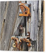 Locked Tight Wood Print