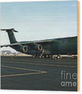 Lockheed C-5 Galixy Wood Print