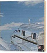 Lockheed Electra Jr. Wood Print
