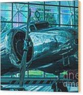 Lockheed Electra Wood Print