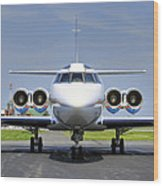 Lockheed Jetstar 2 Wood Print by Dan Myers
