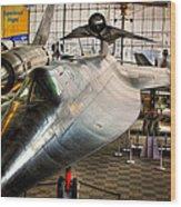 Lockheed M-21 Blackbird Wood Print