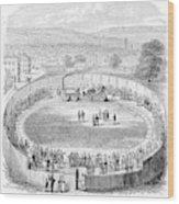 Locomotive, 1808 Wood Print