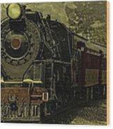 Locomotive 499  Wood Print