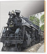 Locomotive 639 Type 2 8 2 Out Of Bounds Wood Print