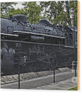 Locomotive 639 Type 2 8 2 Side View Wood Print