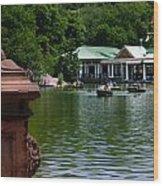 Loeb Boathouse Central Park Wood Print