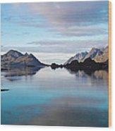 Lofoten Islands Water World Wood Print