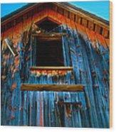 Loft Wood Print