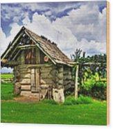 Smokehouse Wood Print
