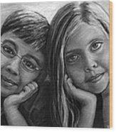 Logan And Ashlyn Commission Wood Print