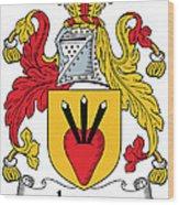 Logan Coat Of Arms Irish Wood Print