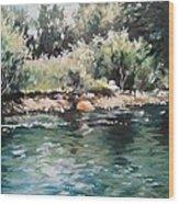 Logan River Wood Print
