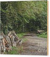Logs Wood Print