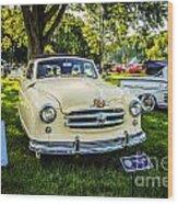 Lois Lane Car Wood Print
