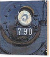Lokomotive No 790 - Illinois Central Wood Print